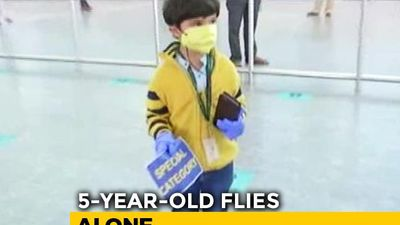 5-Year-Old Flies Home Alone, Mother At Airport, Reunion After 3 Months
