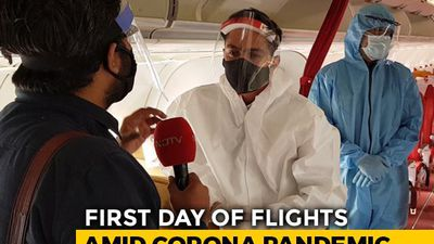 Inside Plane On Day 1: How Are Flight Crews Adjusting To New Normal