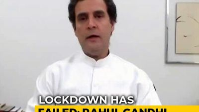 """Lockdown Failed, What Next"": Rahul Gandhi's Question For Centre"