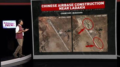 China Constructs Huge Air Base 200 KM From Ladakh, Show Satellite Photos