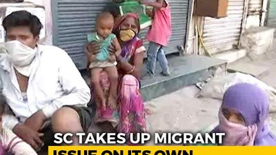 """Supreme Court Takes Note Of """"Miseries Of Migrants"""", Seeks Centre's Response By Thursday"""