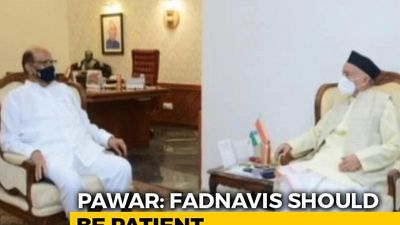 Rahul Gandhi Socially Distances From Uddhav Thackeray. Sharad Pawar's Party Steps In