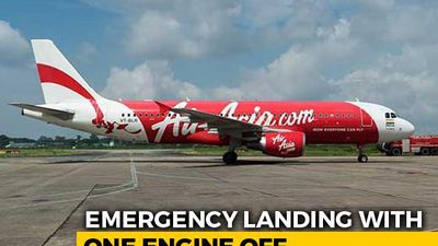 Jaipur-Hyderabad AirAsia Flight With 70 On Board Lands With Engine Shut