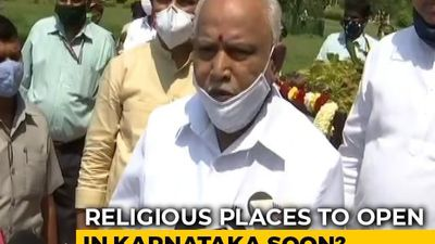 Karnataka Asks PM Modi To Allow Reopening Of Religious Places From June 1