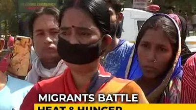"""""""Will Die Like This"""": Migrants Amid Delhi Heat Wave After Trains Scrapped"""