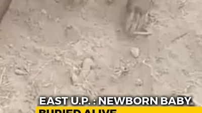 Faint Cries Led To Baby Boy Found Buried In UP, Foot Was Sticking Out