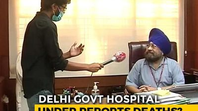 Coronavirus Deaths To Surge In Delhi As Key Hospital Sets Record Straight