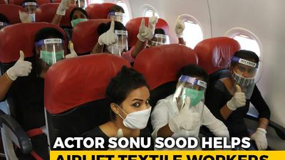 Sonu Sood Airlifts 177 Migrant Workers Stuck In Kerala