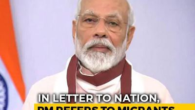 """Tremendous Suffering"": In Letter To Nation, PM Modi Refers To Migrants"