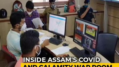 Inside Assam's Flood And COVID-19 War Room