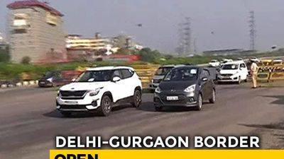 Haryana Opens Delhi-Gurgaon Border After Centre's New Lockdown Guidelines
