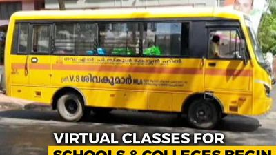 Virtual Class For Kerala School Students Begins