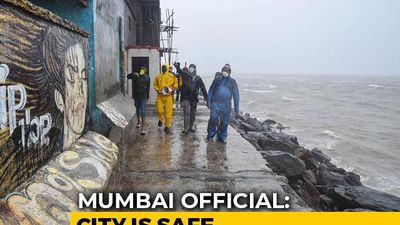Mumbai Exhales As It Emerges Relatively Unscathed From Cyclone Nisarga