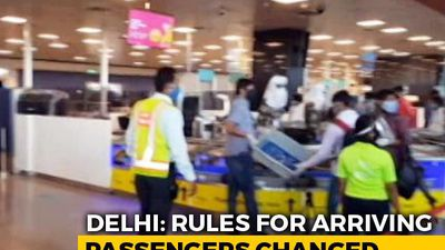7-Day Home Quarantine For All Arriving In Delhi By Flights, Trains, Buses