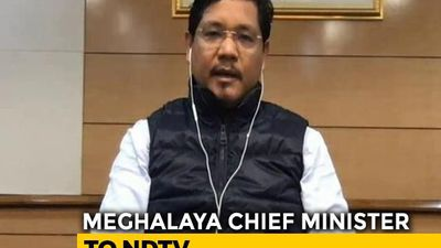 Centre Ensured Good Collaboration On COVID-19: Meghalaya Chief Minister