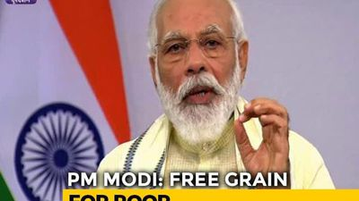 80 Crore People To Get Free Food Grains Till November-End, Says PM
