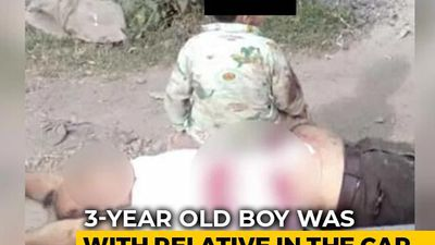 Boy, 3, Survives J&K Terror Attack, Pics Show Him Near Grandfather's Body