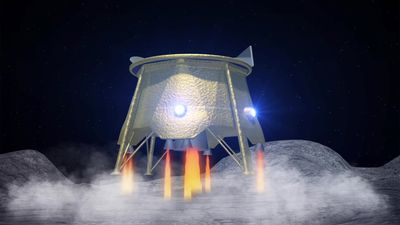 Israeli spacecraft attempts to land on the moon
