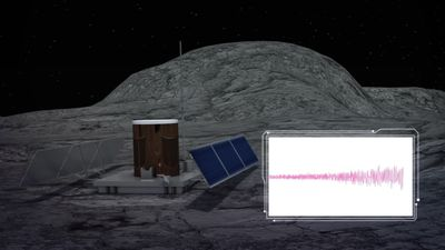 Study finds shrinking moon may be causing powerful quakes
