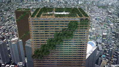 Plans for Tokyo's wooden skyscraper explained
