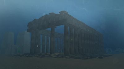 Ancient temples, relics uncovered from sunken Egyptian city