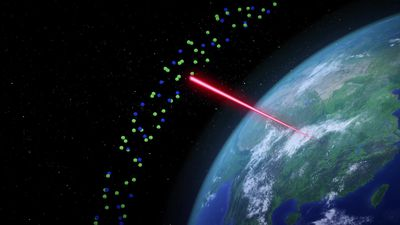 China building powerful laser radar to research the atmosphere
