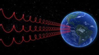 Mysterious radio waves detected from outer space