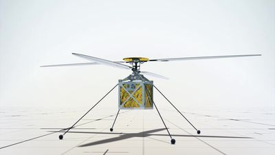 NASA attaches autonomous mini helicopter to Mars 2020 rover mission