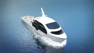 New luxury superyacht inspired by killer whales