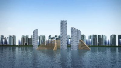 Architects propose self-sustainable vertical city of the future