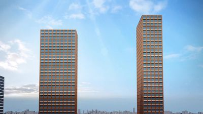 Twin skyscraper designs unveiled for Brooklyn waterfront