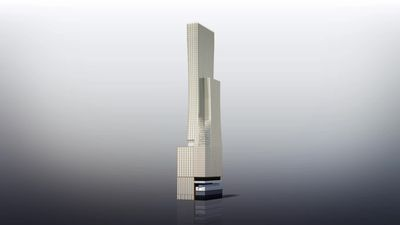 Golden tower proposed for Toronto