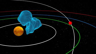 NASA says a large asteroid will fly by Earth