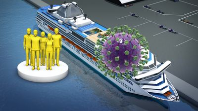 Crew on quarantined cruise ship at greater risk of infection