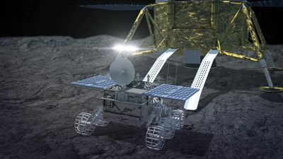 Chang'e 4 probe reveals what's underneath the far side of the moon