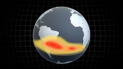 Mysterious weak spot in the Earth's magnetic field is spreading: ESA