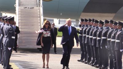 Donald Trump's visit to UK and Ireland: The highlights