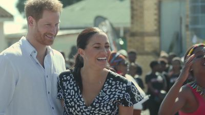 Harry and Meghan in Cape Town