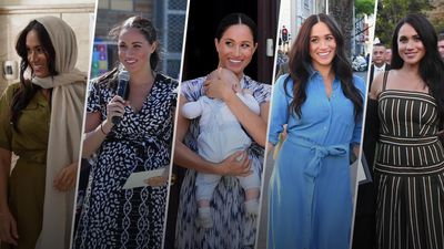 Meghan's royal tour look