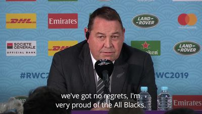 Steve Hansen: We have no regrets despite loss to England