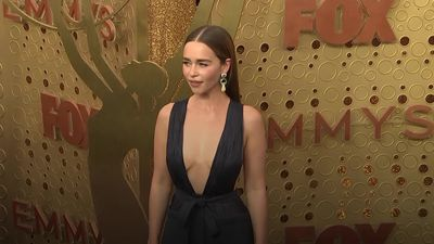 Game Of Thrones' Emilia Clarke in profile