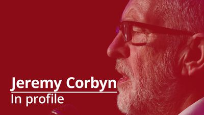 Jeremy Corbyn in profile