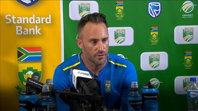 South Africa's Du Plessis on England win: They've thrown the kitchen sink at us