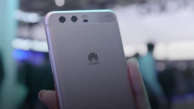 What is the row over Huawei and 5G?