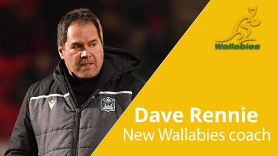 Dave Rennie: New Wallabies coach