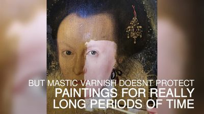 400-year-old painting restoration video goes viral