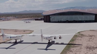 World's first commercial spaceport is operational - Virgin Galactic