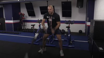James Haskell's no-nonsense F45 gym routine for a stronger physique