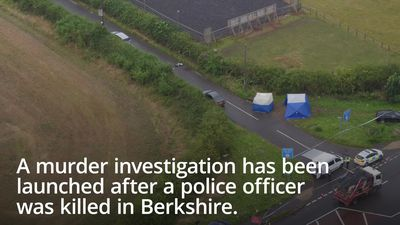 Ten held in murder probe after police officer killed in Berkshire