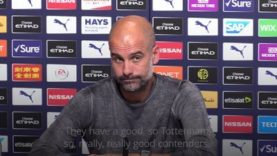Pep Guardiola: Liverpool, United and Tottenham all really good contenders